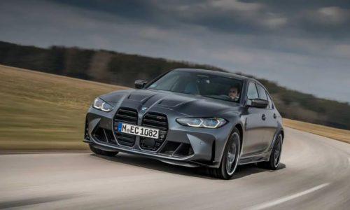 BMW M3 CS поставляется с эксклюзивными фарами M, но без механической коробки передач