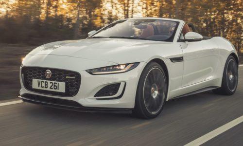 Jaguar F-Type делает ставку на двигатель V-8 в 2022 году