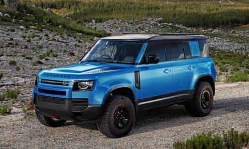 Land Rover Defender SVR 2023 года с двигателем V-8 мощностью 600+ л.с.