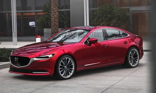 Автомобили будущего: Mazda 6 2023 года получит заднеприводную платформу, нацеленную на BMW и Mercedes