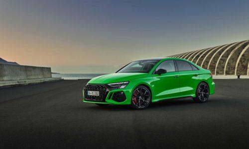 Audi RS3 — пятицилиндровый широкофюзеляжный монстр мощностью 401 л.с.