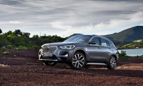 BMW X1 получает обновления интерьера и экстерьера